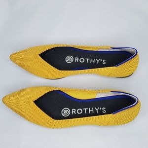 Rothy's The Point Flats in Marigold